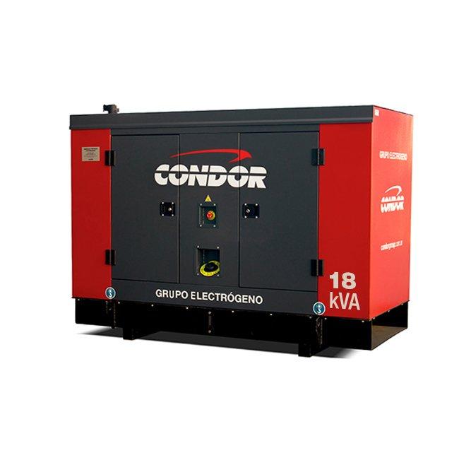 Grupo Electrógeno CONDOR ELG 18 kVA