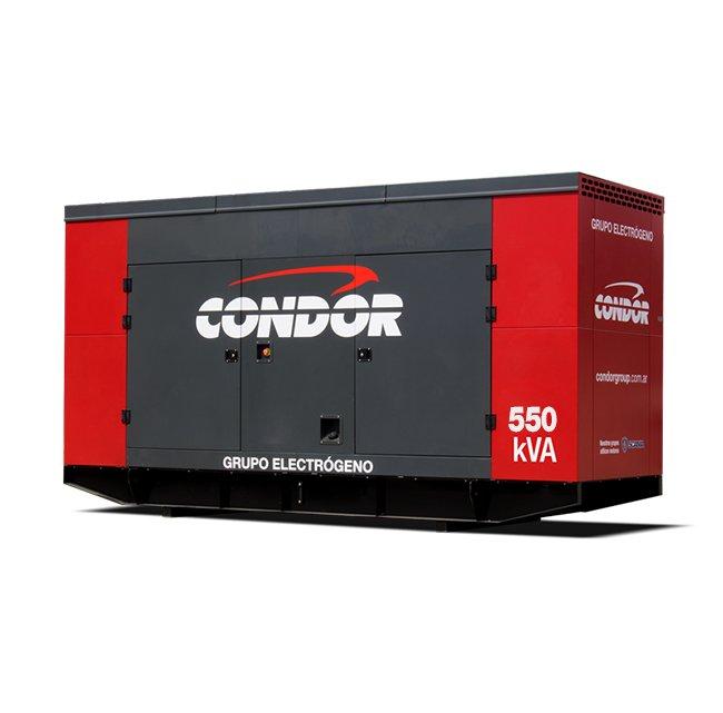 Grupo Electrógeno CONDOR ELG 550 KVA